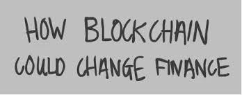 Blockchain finanzas Monitor 31.03.2017